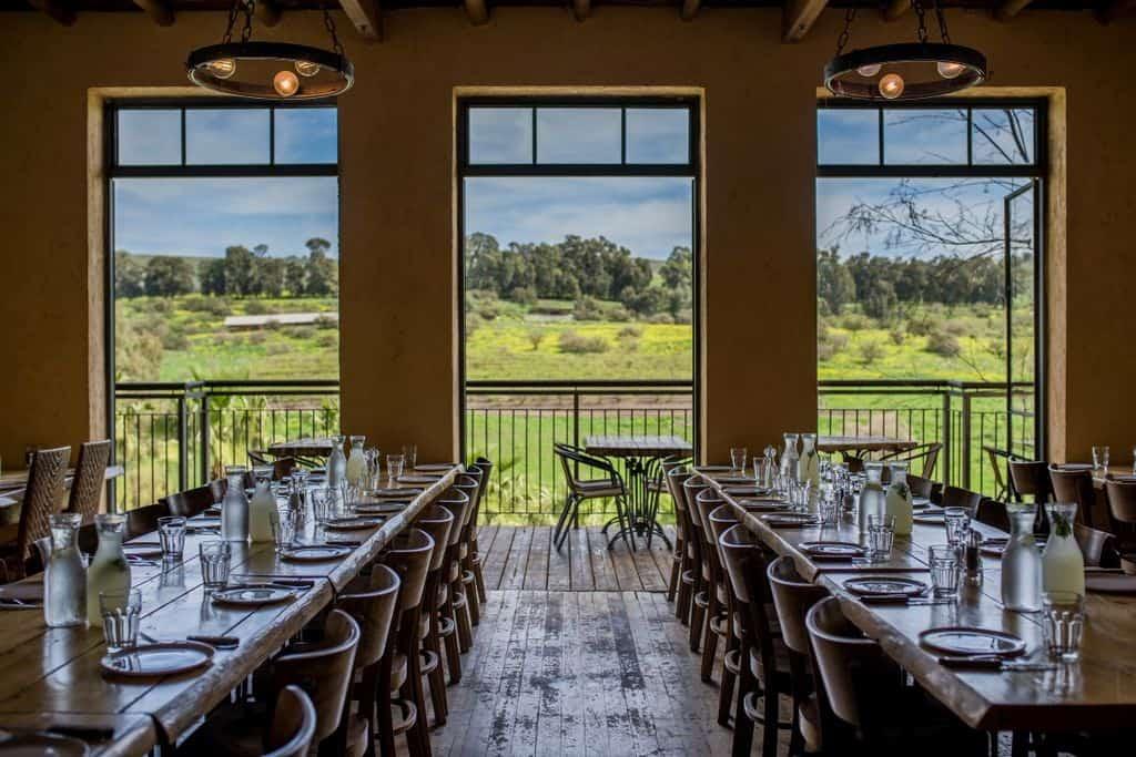 מסעדת איסקנדר במתחם רפטינג נהר הירדן
