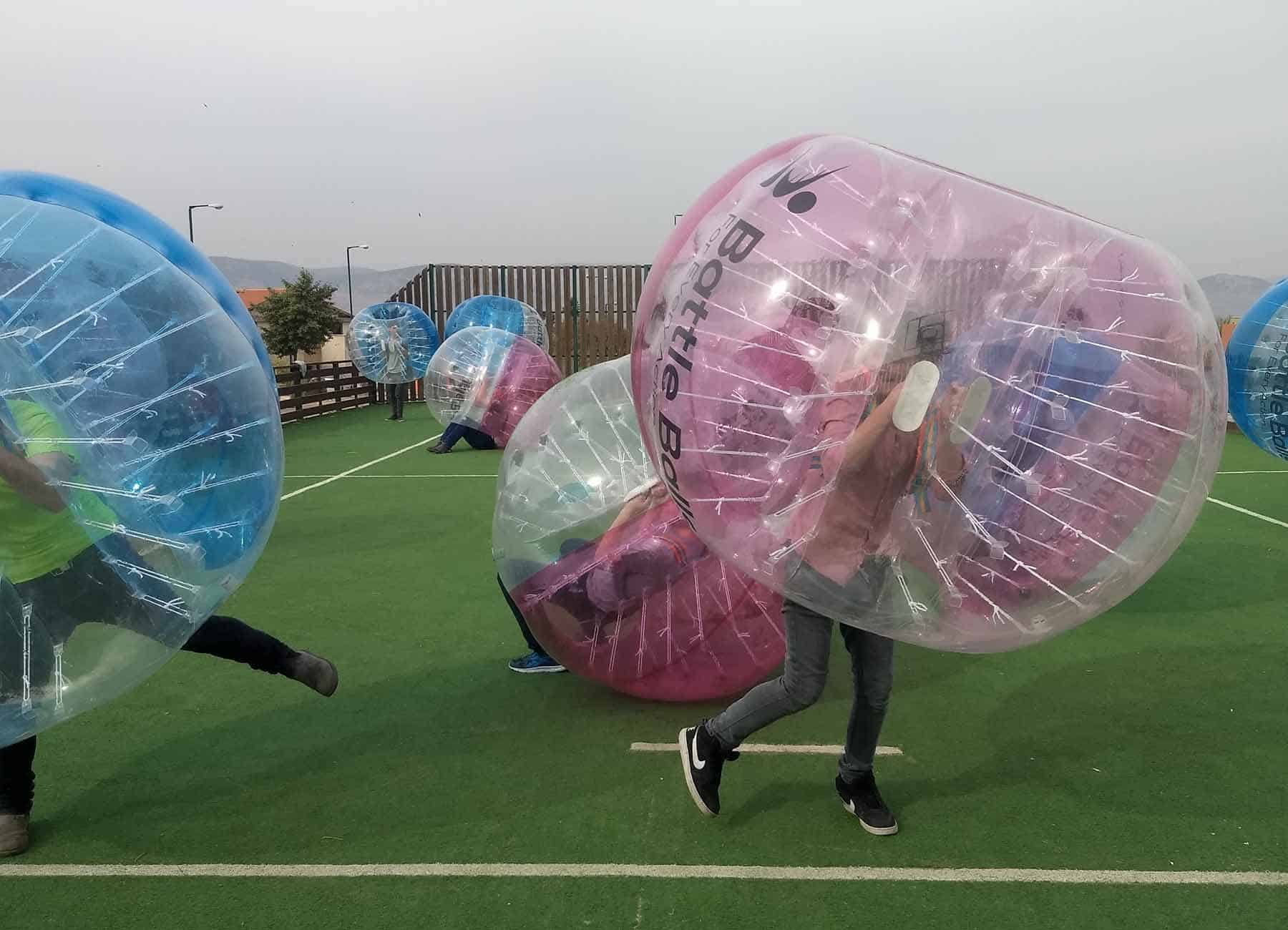 פעילות Bubbleball ברפטינג נהר הירדן