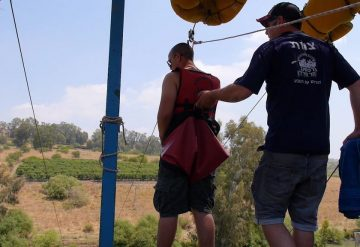 אומגה ברפטינג נהר הירדן